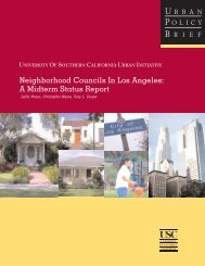 Neighborhood Councils In Los Angeles: A Midterm Status Report