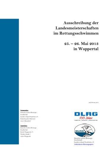 Ausschreibung - DLRG Bezirk Rhein-Sieg e.V.