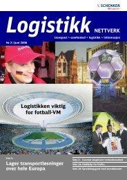 2006-2 Logistikk Nettverk - Schenker