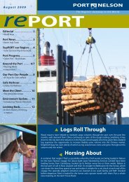 August 2009 (pdf) - Port Nelson