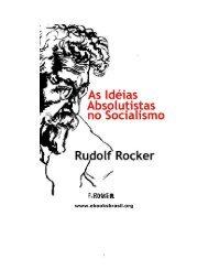 As Idéias Absolutistas no Socialismo - eBooksBrasil