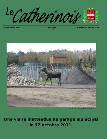 Novembre 2011 - Ville de Sainte-Catherine-de-la-Jacques-Cartier