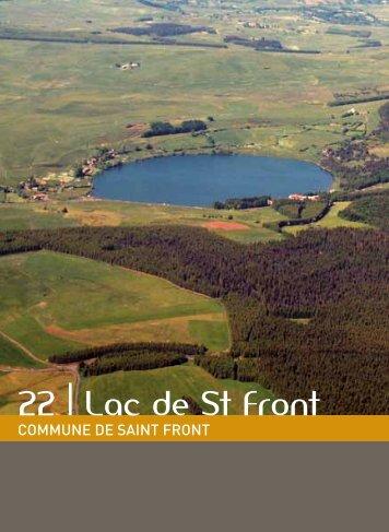 22 | Lac de St Front - Vacances en Auvergne