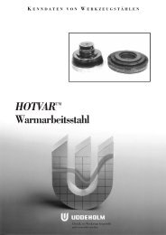 HOTVAR™ Warmarbeitsstahl - Uddeholm