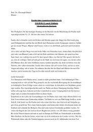 Predigt 22.8.10, 12. nach Trinitatis