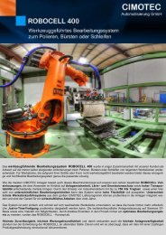 ROBOCELL 400 deutsch.pub - CIMOTEC Automatisierung Gmbh