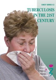 CHSS C3 TB in the 21st Century - Chest Heart & Stroke Scotland