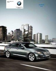2010 550i Gran Turismo Owner's Manual - Irvine BMW