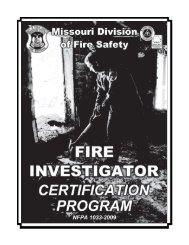 Investigator Certification Booklet 09-12.pmd - Missouri Division of ...