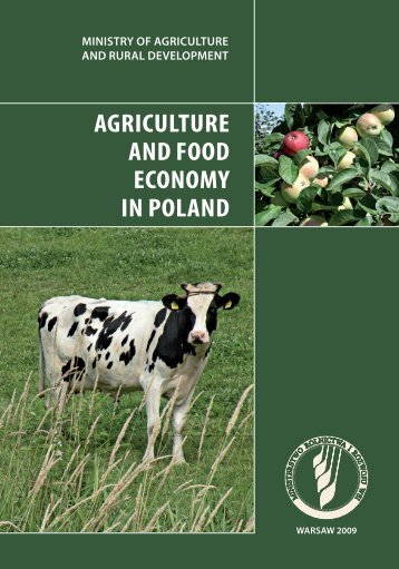 Agriculture and Food Economy in Poland - Penn State Law