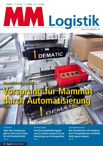 MM Logistik 5/2013 - HDS International Group