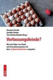 Verfassungsfeinde? - VSA Verlag