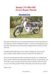 Download Pontiac Firebird 1982 1992 Factory Repair Manual