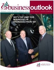 Business Outlook 2011 - Rhondda Cynon Taf