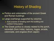 History of Shading