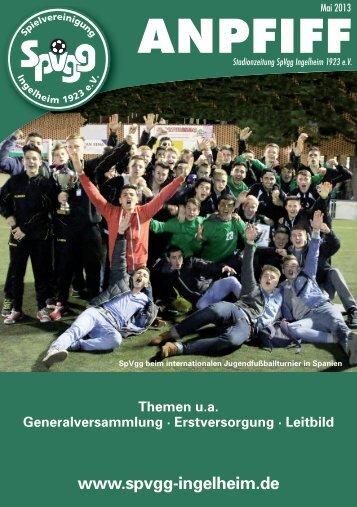 Ausgabe Mai - SpVgg Ingelheim