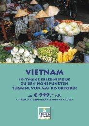 Vietnam - Prima Urlaub