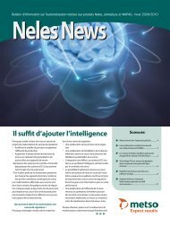 Il suffit d'ajouter l'intelligence - Metso