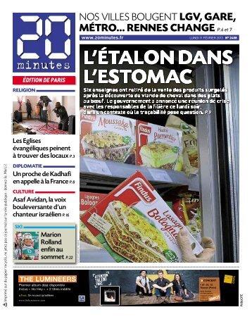 MÉTRO... RENNES CHANGE P.6 et 7 - 20minutes.fr
