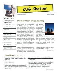 Vista News - PML Computer Users Group