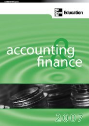 Accounting - McGraw-Hill Books