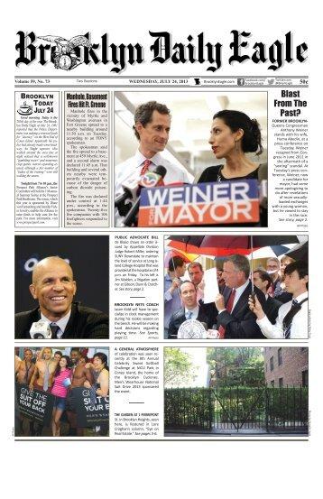 July 24 2013 Wed BDE.pdf - Brooklyn Daily Eagle
