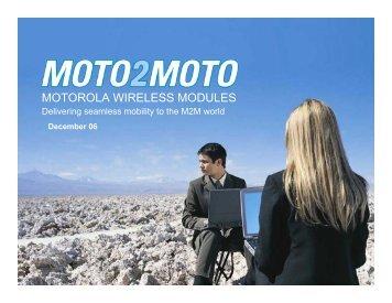 MOTOROLA WIRELESS MODULES