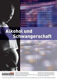 Alkohol und Schwangerschaft - Institut Suchtprävention