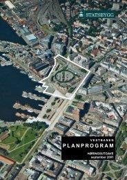 PLANPROGRAM - Statsbygg