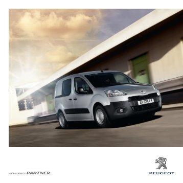 Salgsbrosjyre - Peugeot - Alltid på veien