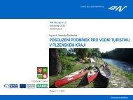 posouzení podmínek pro vodní turistiku v plzeňském kraji - LABEL