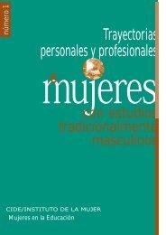 Trayectorias personales y profesionales - Instituto Nacional de ...