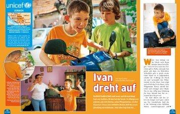 Ivan dreht auf (PDF-Datei aus GEOlino 10/2011) - younicef.de