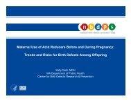 Kelly Getz - National Birth Defects Prevention Network