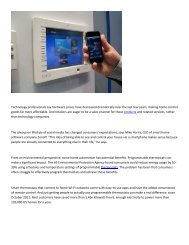 Abney and Abney Associates Green Solutions, smart home technology systems make consumers more energy efficient.pdf