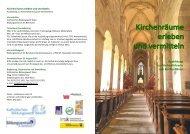 Ausbildung zur Kirchenführerin zum Kirchenführer