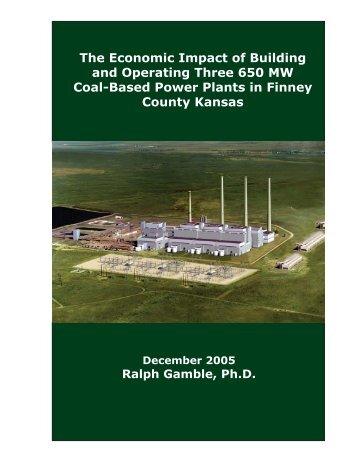 Gamble Study 2 Cover page.indd - Sunflower Electric Power Corp.