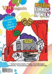 Kultur für Kinder - Vormagazin