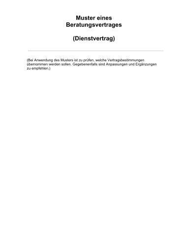 dienstvertrag ihk mittlerer niederrhein - Geschaftsfuhrervertrag Muster