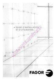 • GUIDE D'INSTALLATION ET D'UTILISATION - Quel lave-linge