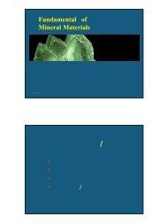 第三章矿物的物理性质