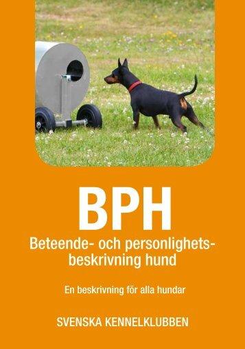 BPH Informationsbroschyr - Svenska Kennelklubben