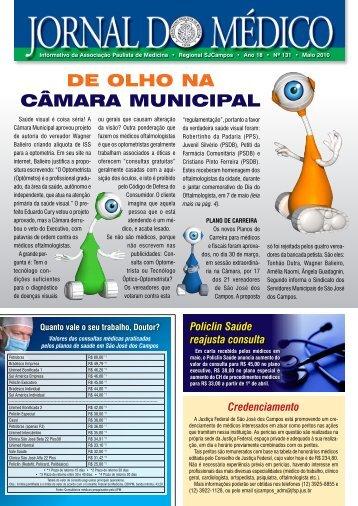 jornal/Jornal do Medico131.pdf - Associacao Paulista de Medicina ...