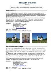 Kirchen in der Umgebung des Interalpen-Hotel ... - Eventlokale.com