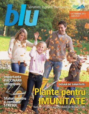 Revista Blu octombrie 2011 - Sensiblu