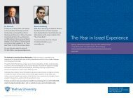 The Year in Israel Experience.pdf - Institute for University-School ...