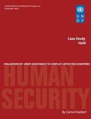case study Haiti - United Nations Development Programme