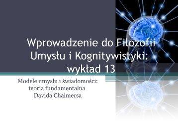 Qualia - Filozofia Umysłu i Kognitywistyka