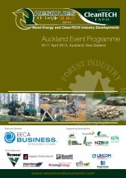NZ 2013 Programme - Residues to Revenues