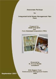 Awareness Package for Integrated Solid Waste Management Plan ...